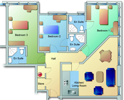 3 Bed Apartments To Let In Waterford Waterford Lettings Apartments To Rent Riverwalk